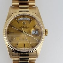 Rolex Day-Date 36 Yellow gold 36mm Champagne No numerals United States of America, Michigan, Waterford
