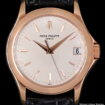 Patek Philippe Calatrava Rose gold 37mm Silver United States of America, New York, New York