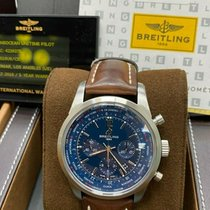 Breitling Transocean Unitime Pilot Steel 46mm Blue United States of America, California, San Diego