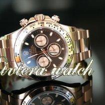 Rolex DAYTONA full pink gold black dial unworn 2018