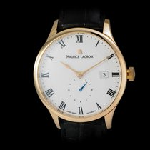 Maurice Lacroix Red gold Automatic White Roman numerals 40mm new Masterpiece Small Seconde