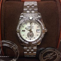 Breitling Galactic 36 A37330 - Diamond Set - Box & Papers...