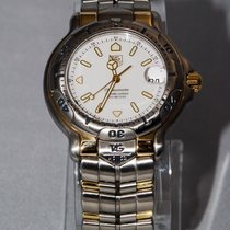 TAG Heuer 6000 WH1151.BD0678 Steel 1994 White  Dial 40mm
