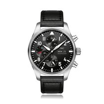 IWC Schaffhausen Pilot Chronograph Automatic Stainless Steel...