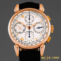 Chronoswiss Klassik  Chronograph  37mm  18K Rose Gold