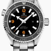 Omega Seamaster Planet Ocean Steel Black Arabic numerals United States of America, New York, New York City