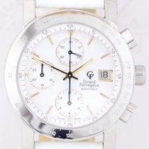 Girard Perregaux Chronograph GP7000 Edelstahl white dial...