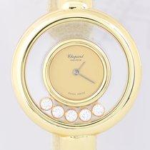 Chopard Happy Diamonds Gelbgold 25mm Gold Keine Ziffern Deutschland, Langenfeld
