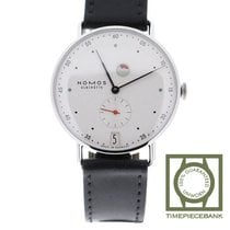 NOMOS Metro Datum Gangreserve new 2020 Manual winding Watch with original box and original papers 1101