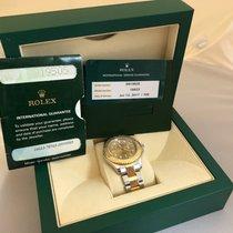 Rolex 16623 Champagne Gold Yacht Master Warranty 2019