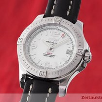 Breitling Colt 36 Steel 37mm Mother of pearl