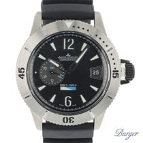 Jaeger-LeCoultre Master Compressor Diving GMT Titanio 46mm Negro Árabes