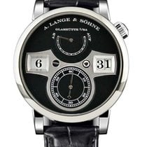 A. Lange & Söhne 140.029 White gold Zeitwerk new United States of America, Florida, North Miami Beach