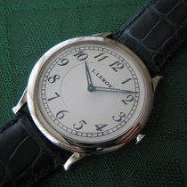 L.Leroy 41mm Manual winding 2014 new Silver