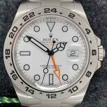 Rolex Explorer II Steel White
