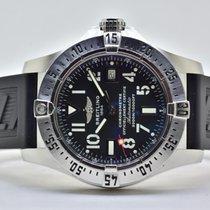 Breitling Avenger Seawolf gebraucht 45.4mm Grau Chronograph Kautschuk