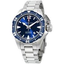 Hamilton Khaki Navy Frogman Steel 42mm Blue Arabic numerals United States of America, New York, Brooklyn