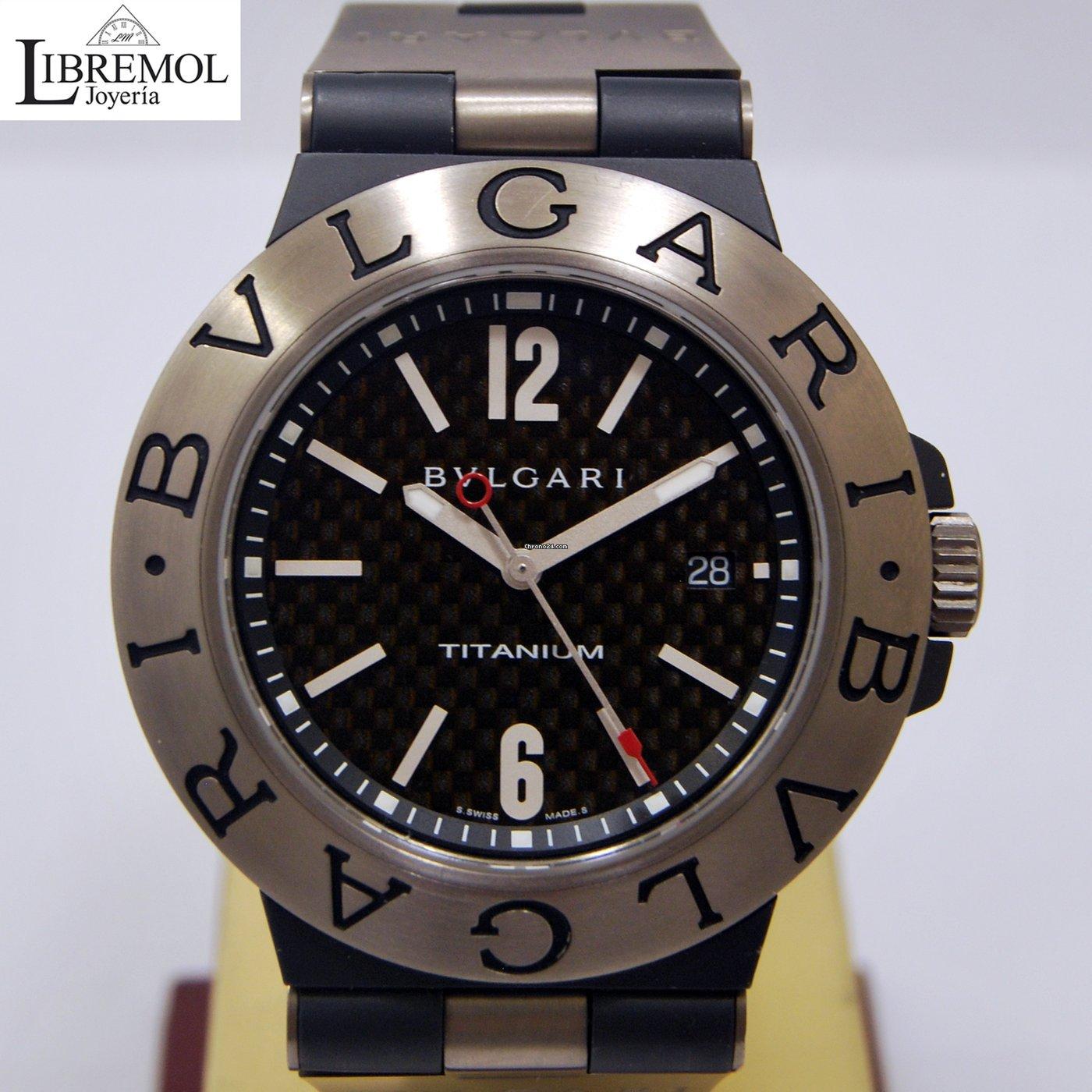 87640ee9be45 Bulgari Diagono Titanium 44 mm en venta por 2.000 € por parte de un Trusted  Seller de Chrono24