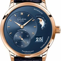 Glashütte Original PanoMaticLunar Or rose 40mm Bleu