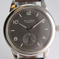 NOMOS Club Automat Staal 40mm Zwart Arabisch