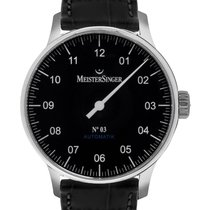 Meistersinger Steel 38mm Automatic BM902 new United States of America, New Jersey, Cresskill