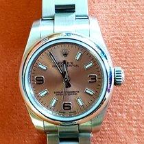 Rolex Oyster Perpetual 26 Steel 26mm Silver Arabic numerals