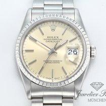 Rolex Lady-Datejust gebraucht 36mm Champagnerfarben Datum Stahl