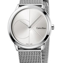 ck Calvin Klein Steel 35mm Quartz K3M2212Z new