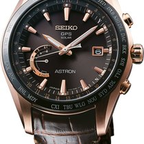 Seiko Astron GPS Solar Chronograph new 2018 Quartz Watch with original box and original papers SSE096J1