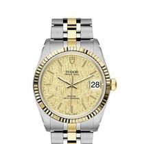 Tudor 74033-0013 Acero y oro Prince Date 34mm nuevo