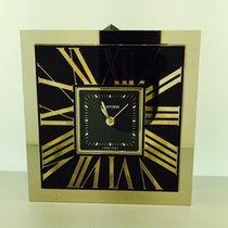 Cartier Desk Clock Railroad Décor