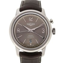 Vulcain 50s Presidents' Watch 42 Automatic Smoked Grey Dial