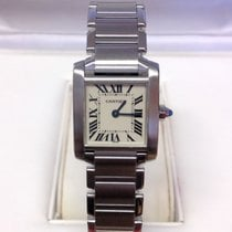 Cartier Tank Française W51008Q3 - Serviced By Cartier