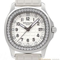 Patek Philippe Aquanaut Staal 35,6mm Wit Arabisch