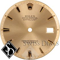Rolex Datejust Non-quick Champagne Stick Hour Marker Swiss...