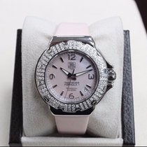 TAG Heuer Ladies Wac1216 Formula One SS Pink Mop Dial Diamond...
