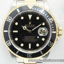Rolex Professionali Submariner Date 16613 quadrante nero full set