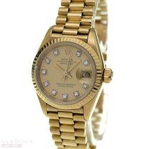 ロレックス (Rolex) Datejust Lady Ref-69178 18k Yellow Gold Box...