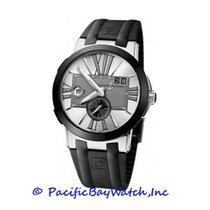 Ulysse Nardin Executive Dual Time 243-00-3/421 Pre-Owned