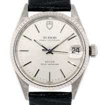 Tudor Prince Oysterdate Stainless Steel Watch