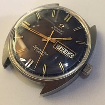 Omega Mens Seamaster Cosmic Automatic Gents Date Blue dial  watch