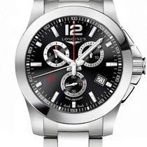 Longines Conquest Steel 44mm Black United States of America, New York, Airmont