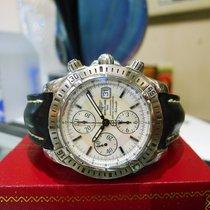 Breitling Chronomat Evolution Chronograph Steel Mop Dial Mens...
