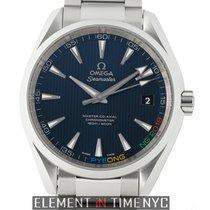 Omega Seamaster Aqua Terra Acciaio 42mm Blu