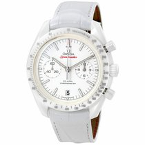 Omega Speedmaster Professional Moonwatch Céramique 44mm Blanc