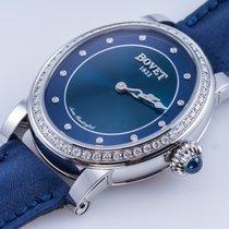 Bovet Dimier Récital Stahl 35,4mm Blau