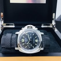 Panerai Luminor 1950 3 Days Chrono Flyback Acero 44mm Negro Arábigos España, Barcelona