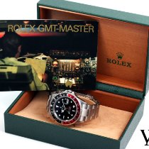 Rolex 40mm Automatic 1999 pre-owned GMT-Master Black