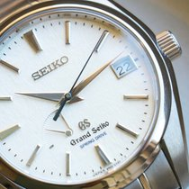 Seiko Titanium Automatic 41mm pre-owned Grand Seiko