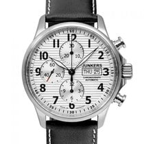 Junkers Steel 42mm Automatic 6818-1 new